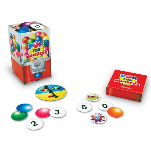 Learning Resources Pop For Numbers Game - 1