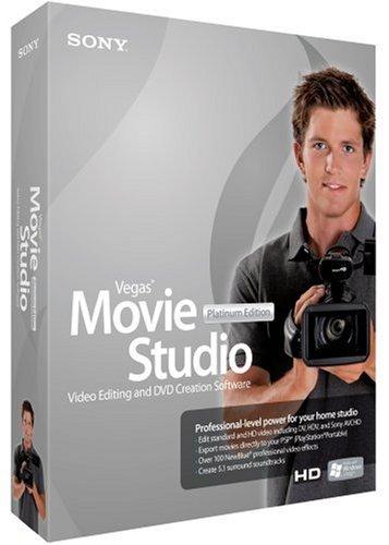 Vegas Movie Studio + DVD 8 Platinum Edition