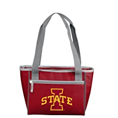 Buy Iowa State Cyclones Red 32oz. Team Logo Cooler Coolie by Logo