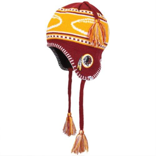 Nfl Washington Redskins Kid'S Gameday Knit Cap, Razor Red front-970730