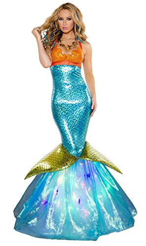 Women Sexy Aquarius Mermaid Costume (Complete) By Nelasportswear