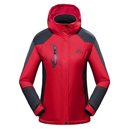 WWL Fashion Unisex Waterproof Warm Jacket Fleece Windproof Ski Jacket Winter (Weatherproof Quilted Boots compare prices)
