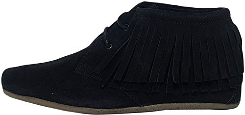 maruti-womens-mimosa-womens-black-ankle-moccasin-boots-in-size-40-black