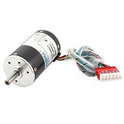uxcell® DC 12V 4000RPM Speed 38mm Diameter Low Noise Brushless Motor