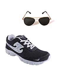 Elligator Sports Shoes With Lotto Aviator Sunglass