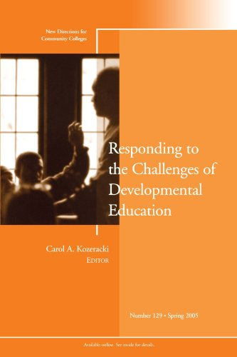 Responding to the Challenges of Developmental Education:...