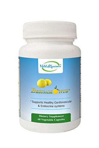 Nutri Lifescience Bergamonte® 60 Vegetarian Capsules