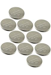 [ 10 pcs ] -- Panasonic Cr2032 3v Lithium Coin Cell Battery Dl2032 Ecr2032 ( Pack of 10 ) by A World of Deals®