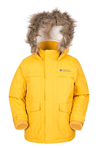 Mountain Warehouse Samuel Kinder-Parka Dunkelgelb 104
