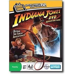 Indiana Jones games: DVD game!