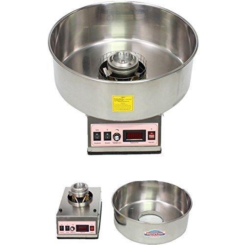 Euroeshop - Machine à barbe à papa électrique 950W pour usage industriel maison cuisine fête