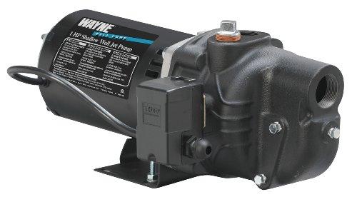 Wayne SWS100 1-Horsepower Cast Iron Shallow Well Jet Pump