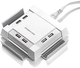 Poweradd 50 Watt 6 Ports Ladeadapter Ladegerät und Halter mit Automatische Erkennungstechnologie