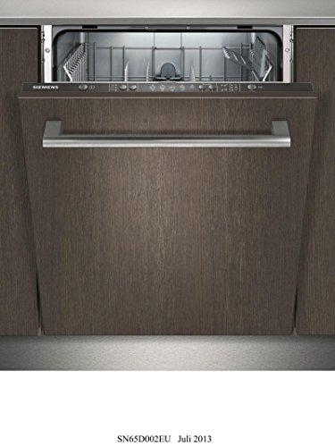 Siemens SN65D002EU lave-vaisselle - laves-vaisselles (Entièrement intégré, A, A+, Économie, Intensif, Normal, Pré-lavage, Rapide, 220 - 240 V, 50/60 Hz)