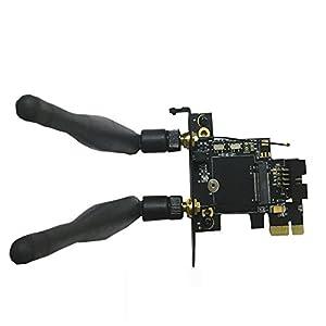 Sourcingbay M.2(NGFF) Wireless Card to PCI-e 1X Adapter
