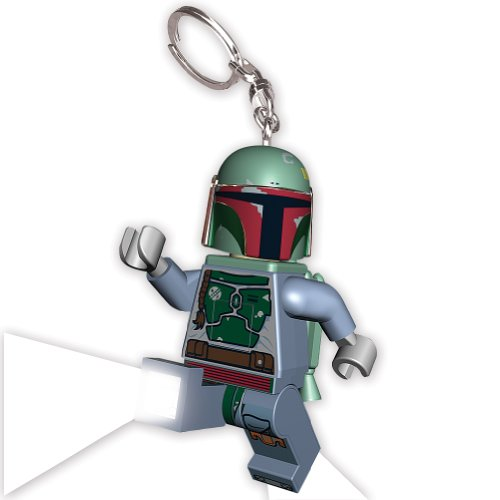 Star Wars Boba Fett Lego Lighted Keychain: Empire'S Bounty Hunter Kamino