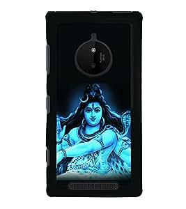 printtech Lord God Om Namah Shivaya Back Case Cover for Nokia Lumia 830 RM-984