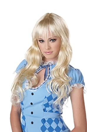 California Costumes Eye Candy Coquette Wig, Blonde, One Size