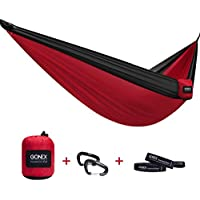 Gonex Portable Ultralight Outdoor Camping Hammock with Straps (Multiple Colors)