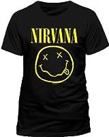 Live Nation Nirvana - Smiley Men's T-Shirt