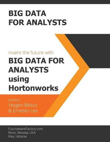 Big Data for Analysts: Invent the future [Bilous, Yevgen - Lee, Ernesto] (Tapa Blanda)