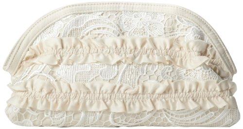 magid-ruffles-and-lace-clutch-women-ivory-clutch