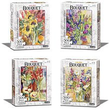 Bouquet Mix and Match Jigsaw Puzzle 500pc