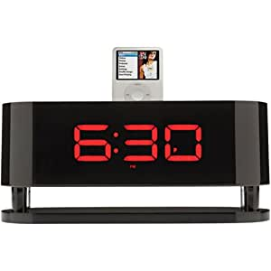 Cygnett GrooveNeo Large Format Time Display and Speaker System for iPod