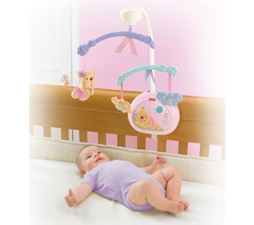 FISHER PRICE LITTLE BUTTONS SLEEPYTIME MUSICAL MOBILE [Baby Product] - 1