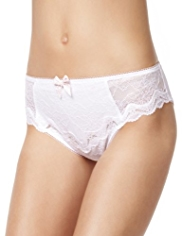 Limited Collection Flirt Lace High Leg Knickers