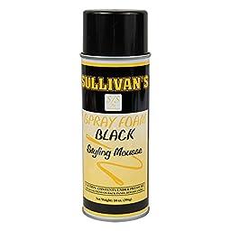 Sullivan\'s Styling Mousses Spray Foam - 14 ounces Black