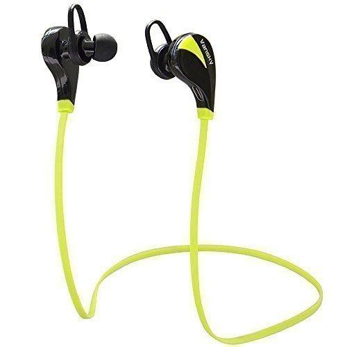 Vansky® Streamline Serie Auricolari Wireless Bluetooth Headset Stereo Cuffie Sportive a Prova di Sudore con Microfono Per iPhone 6, 6 Plus, 6s, 5 5c 5s 4 e Android (Verde)