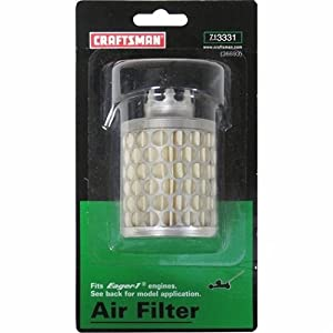 Craftsman Lawn Mower Air Filter, 71-3331