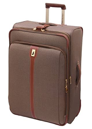 London Fog Luggage Oxford II 28 Inch Upright Suiter, Tan, One Size