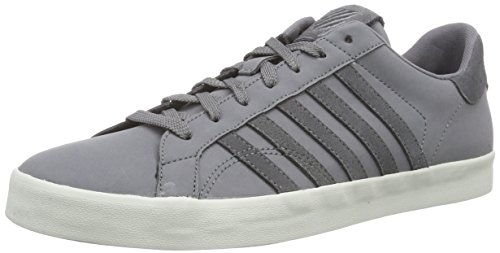 k-swiss-belmont-so-sneakers-basses-hommes-gris-grau-charcoal-bone-032-41-eu