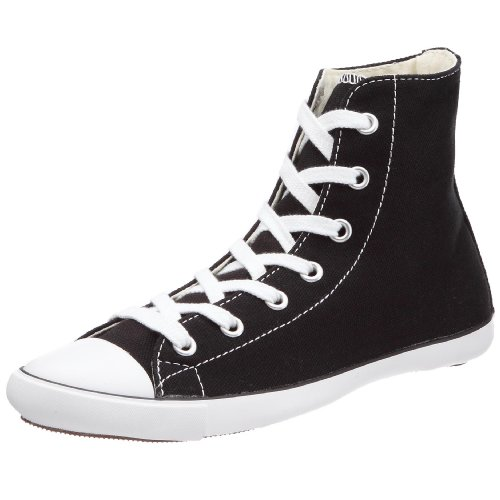 Converse Women's Chuck Taylor AS Light Hi Lace-Up Black/White 511521 4 UK