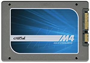 Crucial CT256M4SSD1 256GB M4 SATA III 6Gb/s MLC 7mm 2.5 Inch Internal SSD