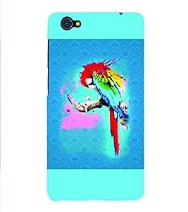 PrintVisa Birds Parrot Colorful 3D Hard Polycarbonate Designer Back Case Cover for VivoX5Pro