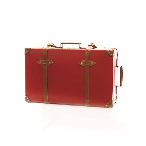 """(グローブトロッター) GLOBE TROTTER スーツケース CENTENARY 28インチ """" Suit Case W/W GTCNTRT28SC RED/TAN [並行輸入品]"""