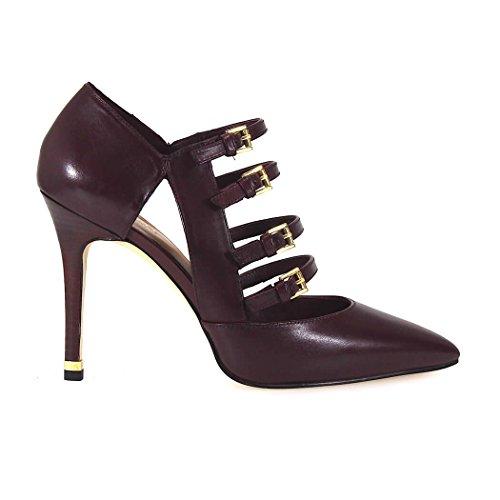 Nuova collezione Calzature Donna MICHAEL KORS marta pump tronchetto, tacco alto, tinta unita, chiusura con 4 cinturini regolabili, suola in gomma
