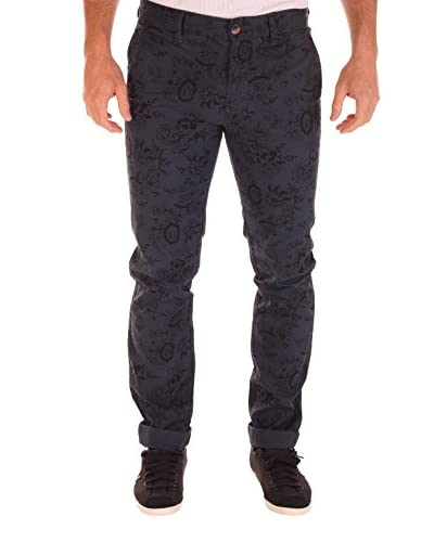 BENDORFF Pantalone Chino [Blu]