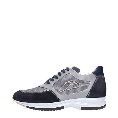 Cristiano Gualtieri 456LG Sneakers Uomo Crosta Blu/Grigio Blu/Grigio 44