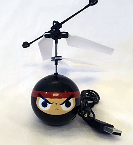 Heli Ball Black Ninja Face Flying Ball