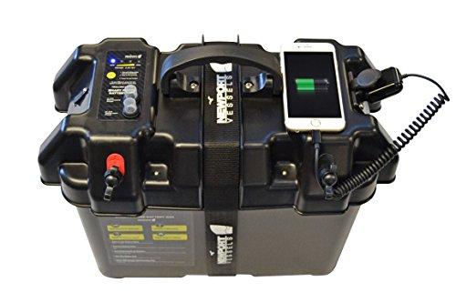 Smart Battery Box Power Center External Port Usb Charger