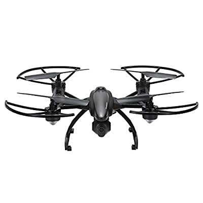 GoolRC 509G FPV Drone with Camera Live Video HD 2MP RC Quadcopter with FPV Monitor Screen on Remote , Altitude Hold & Headless Mode & One Key Return from GoolRC