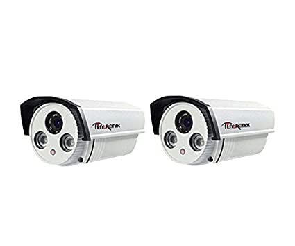 Tentronix SY-2B-AR2DPT1 1MP Bullet CCTV Camera (2 Pcs)