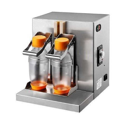 Double-frame Auto Bubble Boba Tea Milk Shaker Shaking Making Machine (Bubble Tea Shaker Machine compare prices)