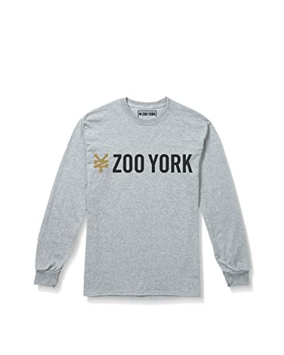 Zoo York Camiseta Manga Larga Gallant Gris Claro