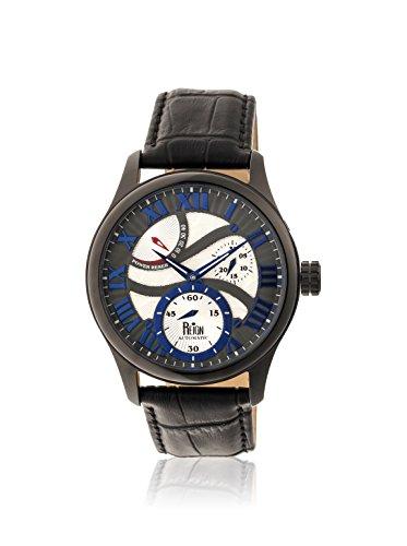 Reign Automatic Men's Bhutan Black/Multicolor Leather Watch