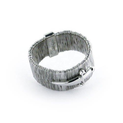 Cesare Paciotti anello in argento con pugnale